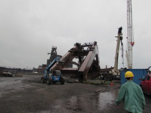 Ore Stacker Reclamer Product Liability Claim in Burns Harbor, IN (1)